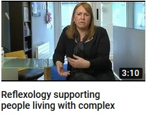 Reflexology Supporting People living with complex health issues